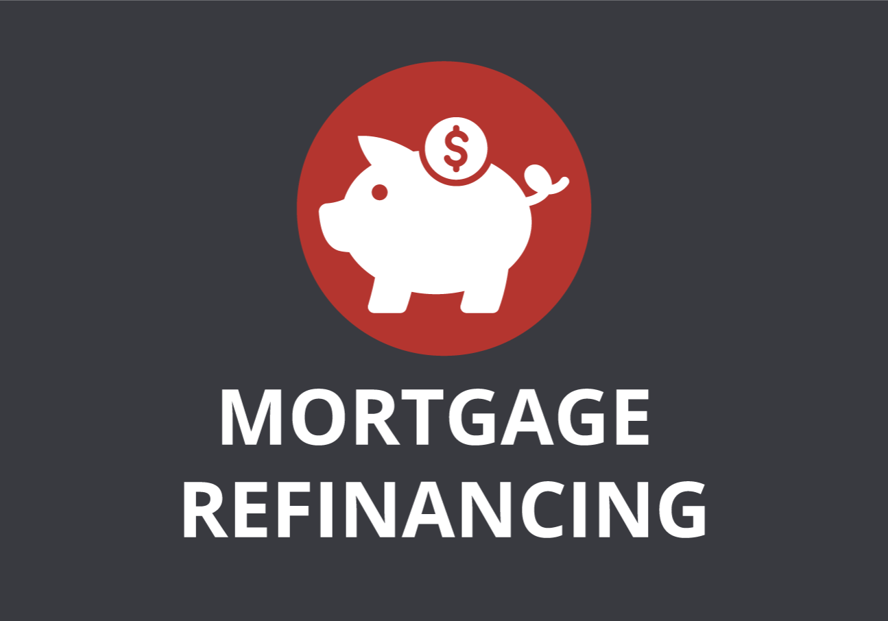 mortgaget refinancing box_gray and red